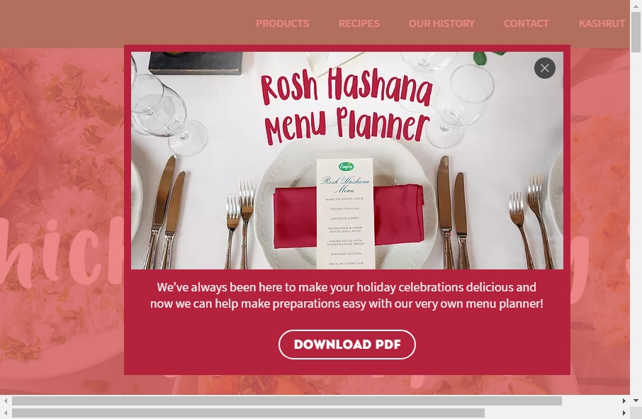 Examples of Poultry Websites With Fantastic Designs 31