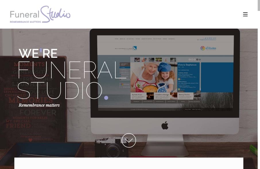Funeral Services Website Designs 28