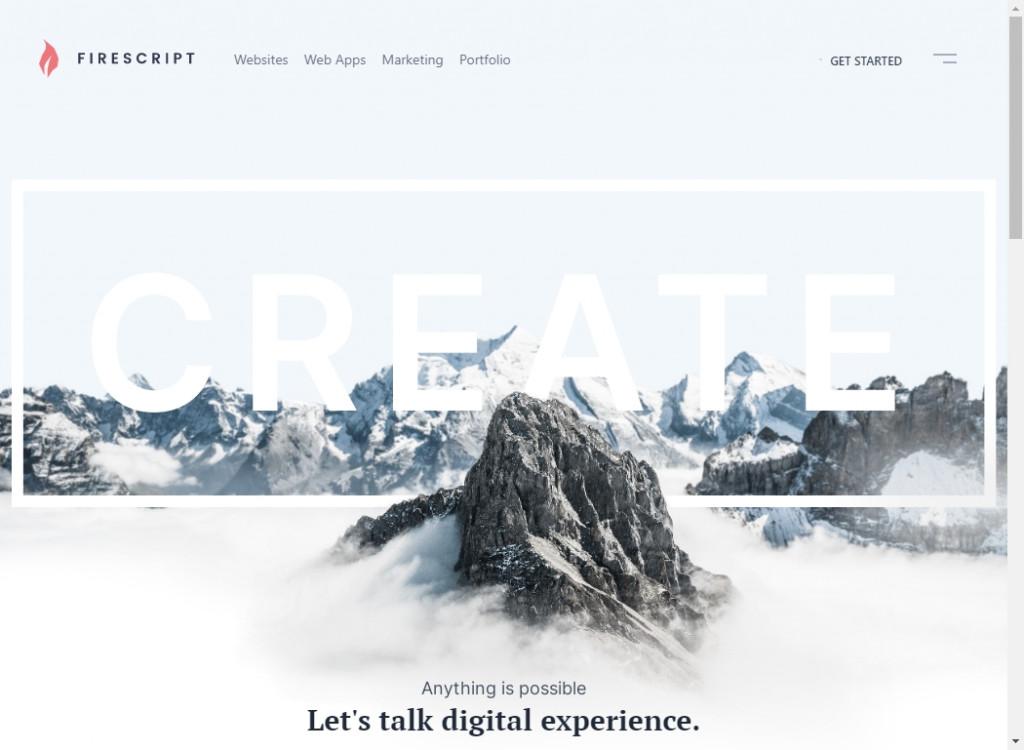 Clean Website Designs 30