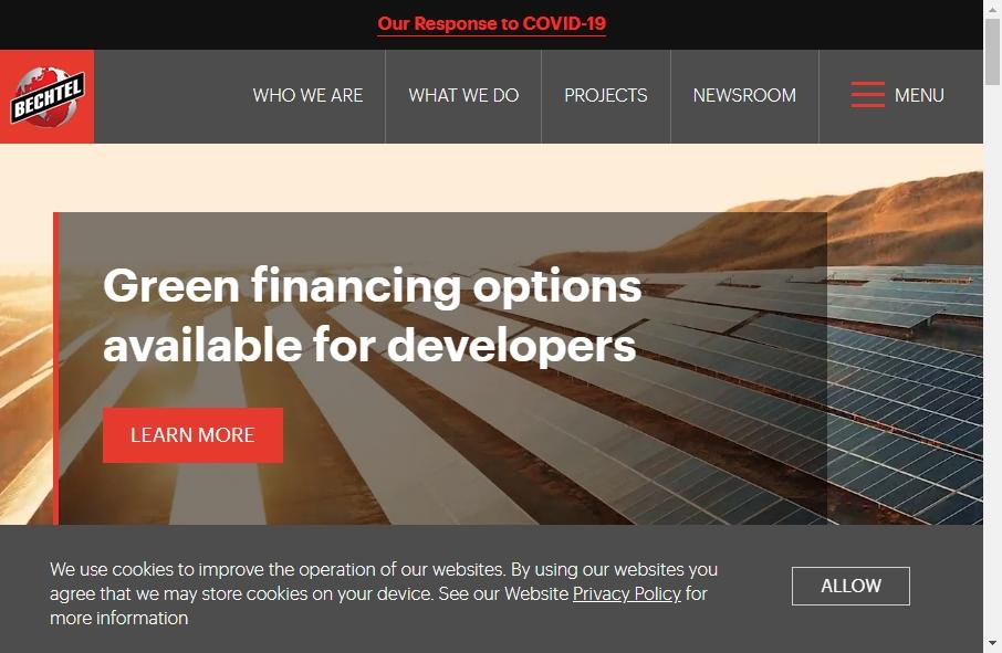 13 Best Contractors Websites Design Examples for 2021 29