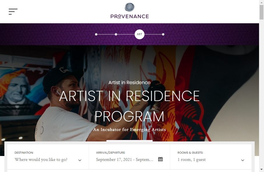 Hotels Websites Design 32