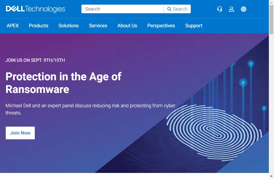 18 Great Technology Website Examples 33