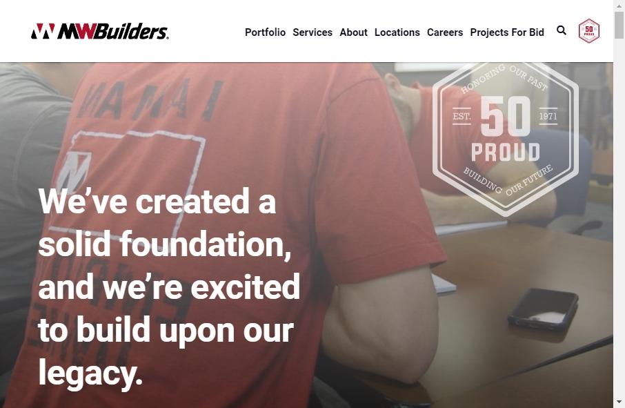 Builders Website Design 31