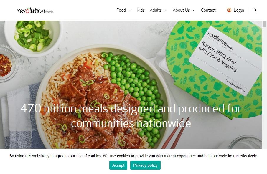 Food Website Design 30