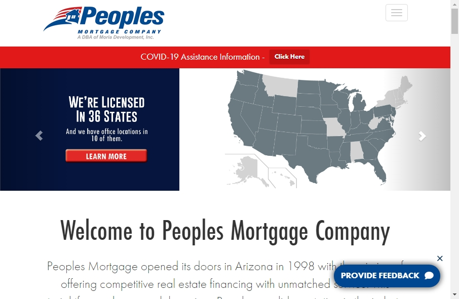 11 Examples of Inspirational Mortgage Websites 26