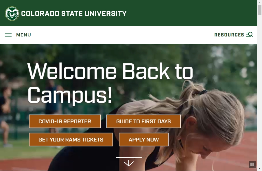 23 Examples of University Websites With Fantastic Designs 34