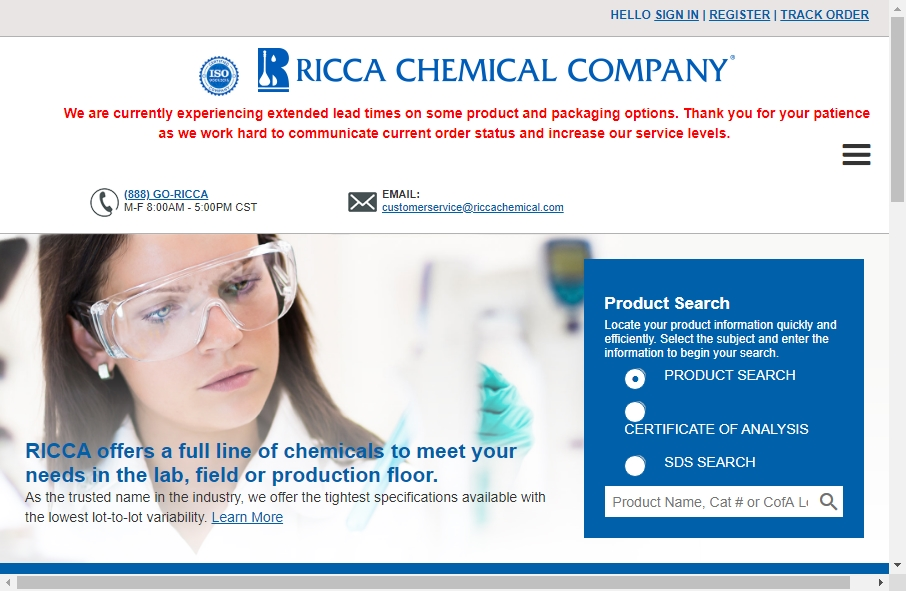 20 Examples of Chemical Websites With Fantastic Designs 30