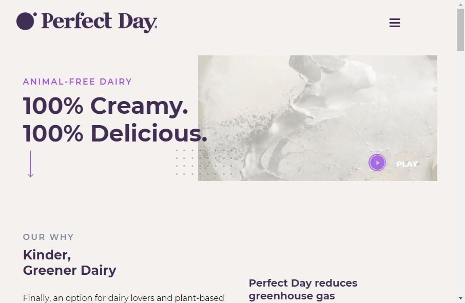 Dairy Website Design 34