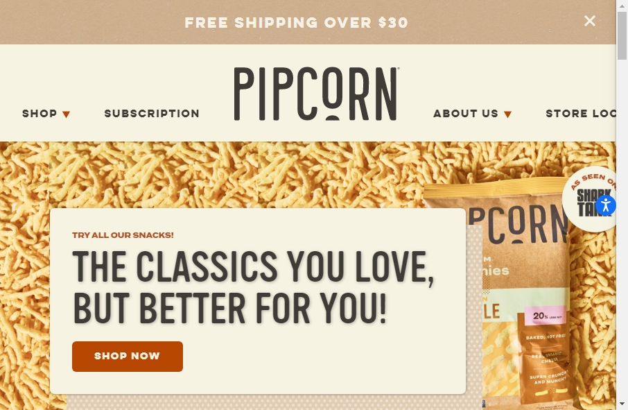 16 Examples of Food Product Websites With Fantastic Designs 32