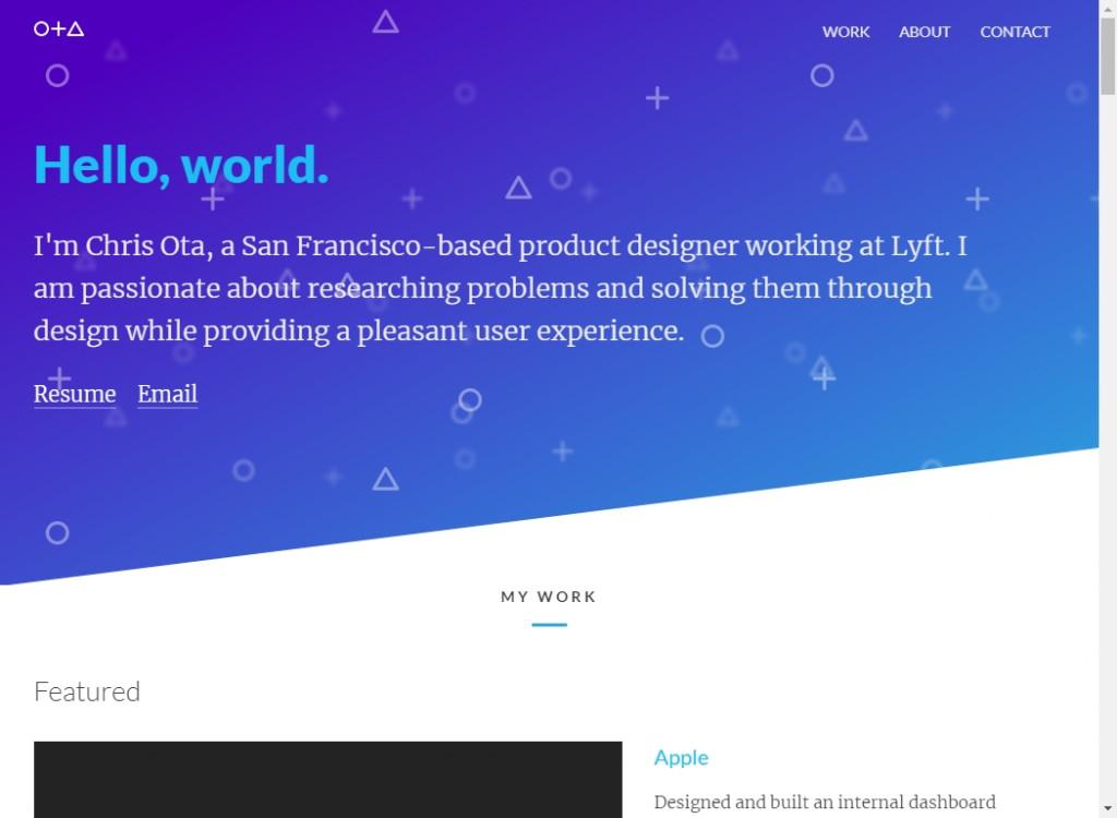 18 Beautifully Designed Single Page Websites 34