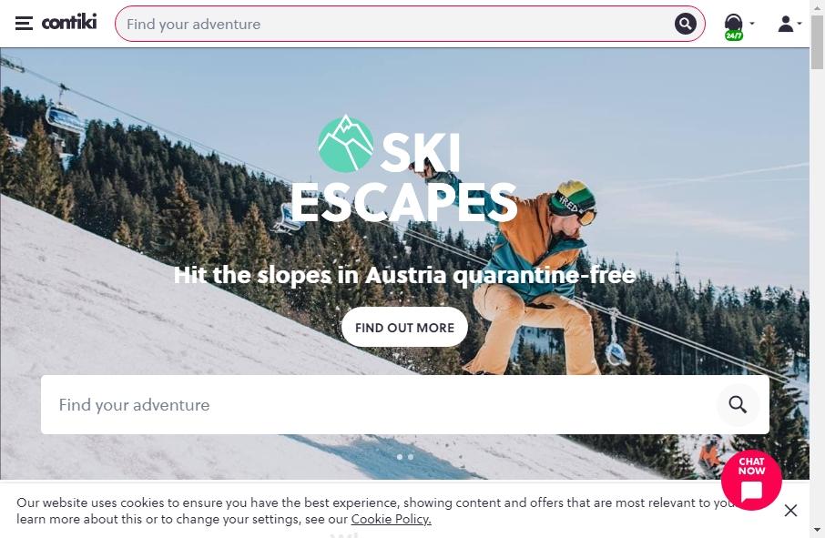 18 Best Travel Website Design Examples for 2021 33