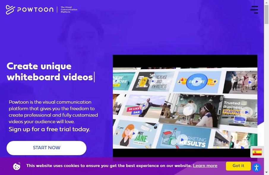 19 Amazing Video Website Design Examples in 2021 34