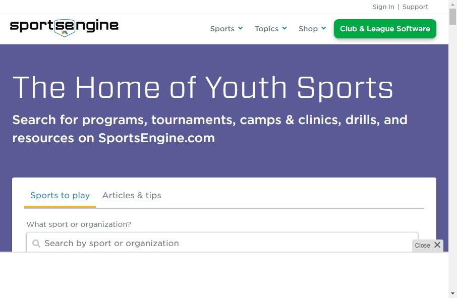 20 Amazing Sport Website Design Examples in 2021 32