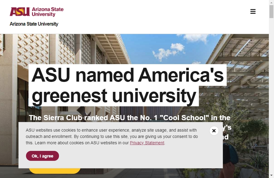 23 Examples of University Websites With Fantastic Designs 35