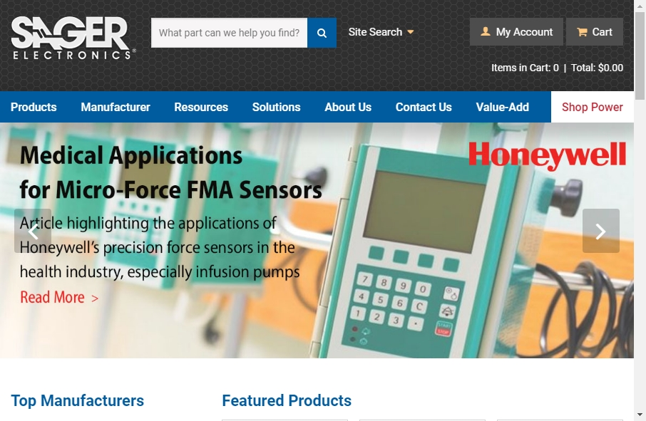 17 Great Electronics Website Examples 33