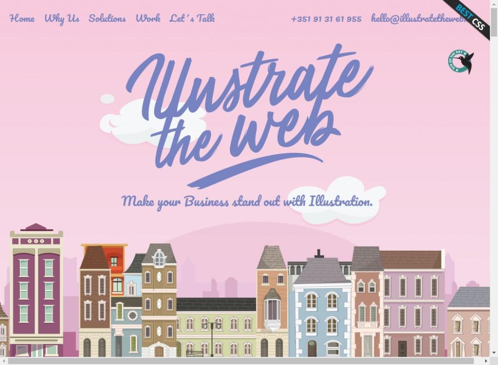 19 Beautifully Designed Illustrative Websites 35
