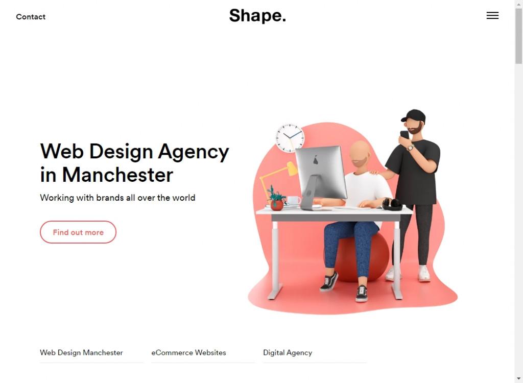 Clean Website Designs 32