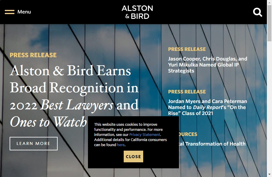 25 beautifully designed Attorneys website examples in 2021 35