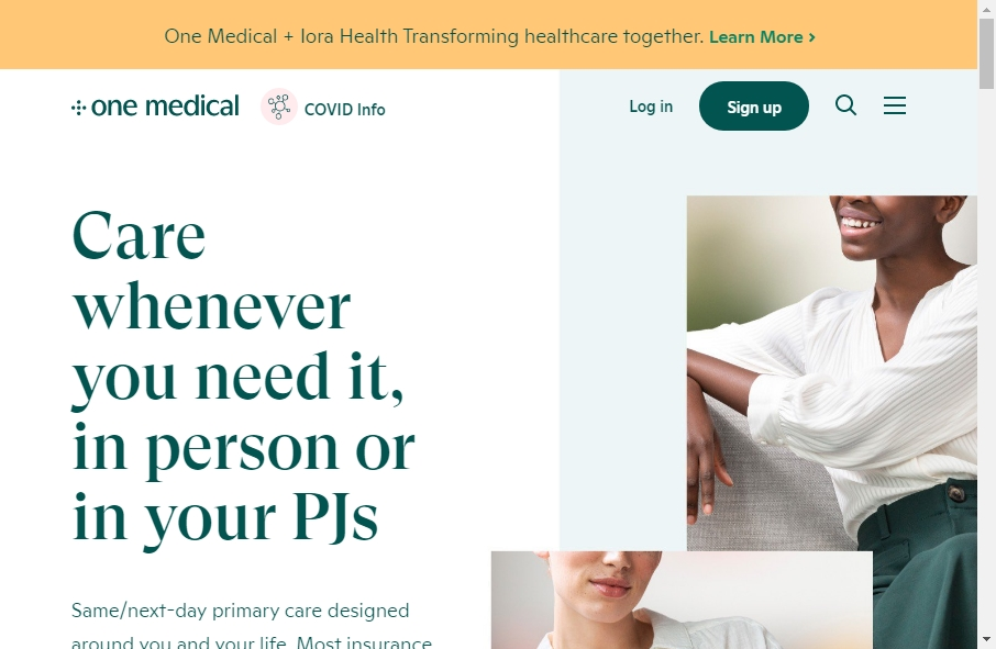 16 beautifully designed Healthcare website examples in 2021 27