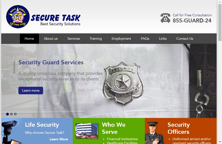14 Examples of Inspirational Security Websites 30