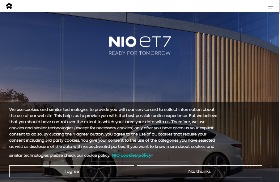 22 beautifully designed Vehicles website examples in 2021 34