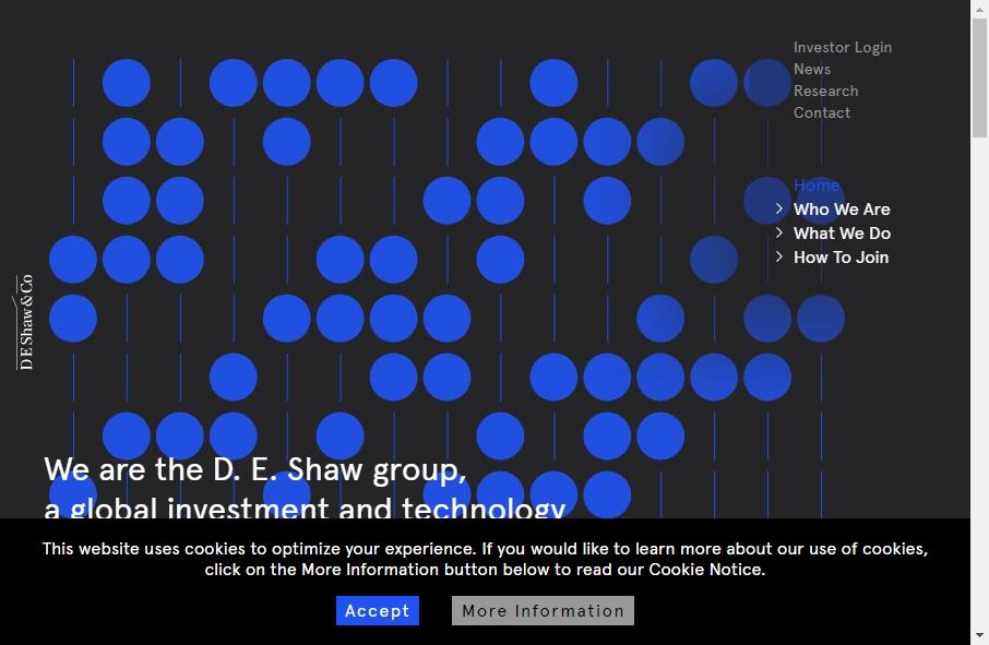 Hedge Fund Website Design 19