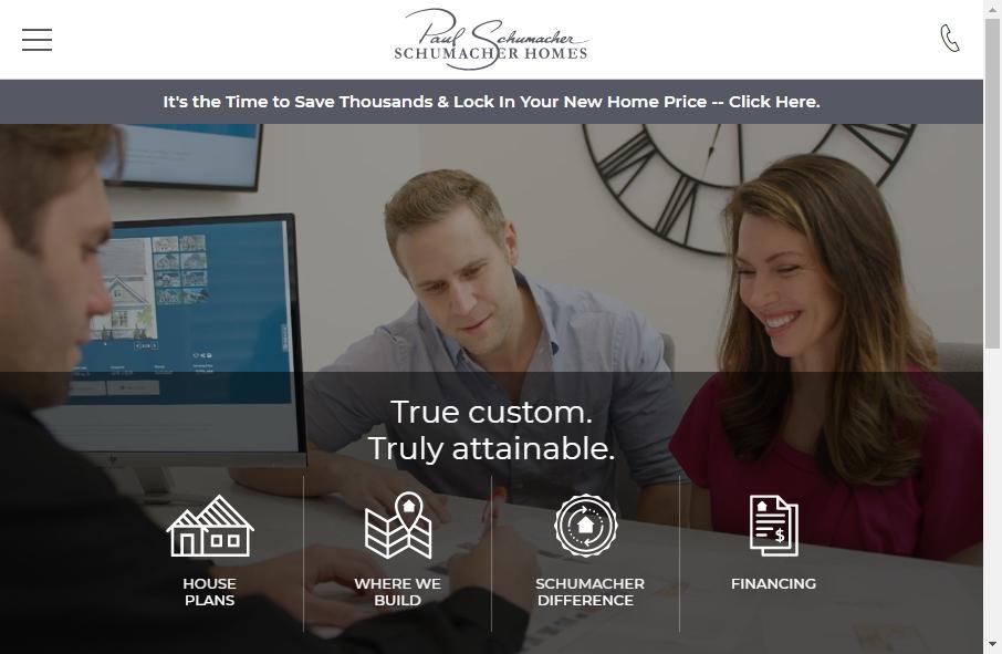 Home Builder Websites Examples 19