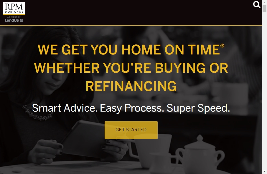 11 Examples of Inspirational Mortgage Websites 17