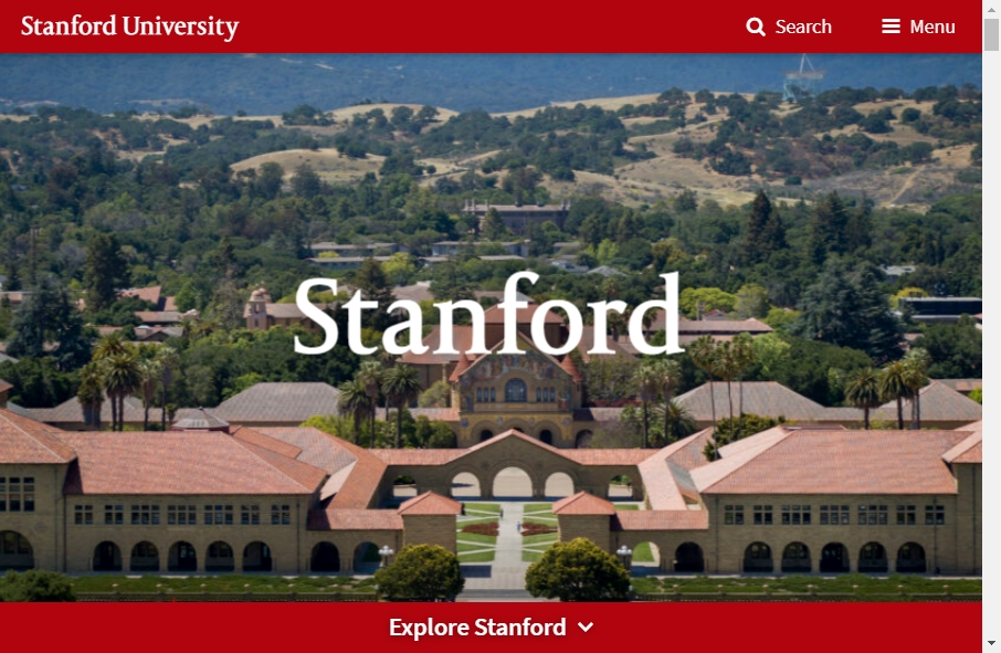 23 Examples of University Websites With Fantastic Designs 19