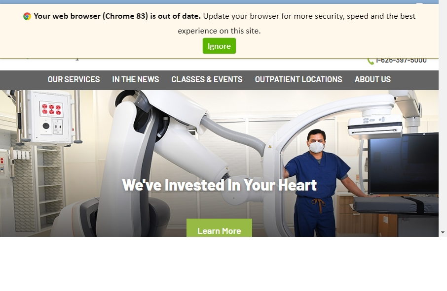 11 Examples of Hospital Websites With Fantastic Designs 18