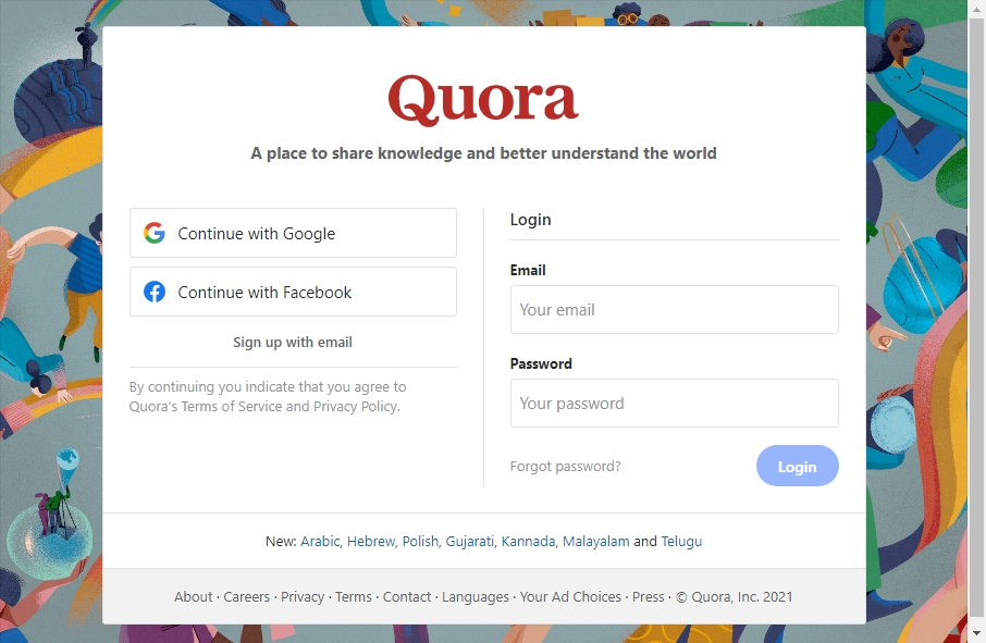 15 beautifully designed Q&A website examples in 2021 19