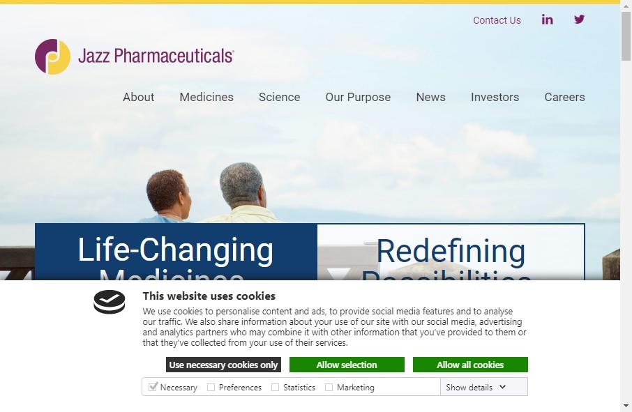 14 Best Pharmaceutical Website Design Examples for 2021 19