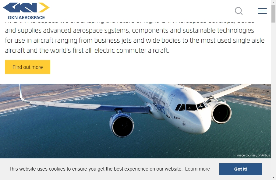 14 Examples of Aerospace Websites With Fantastic Designs 19