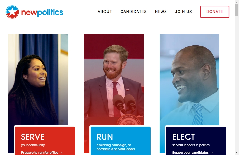 10 Examples of Politics Websites With Fantastic Designs 18