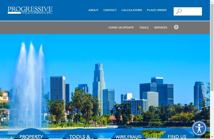 Examples of Inspirational Progressive Websites 18