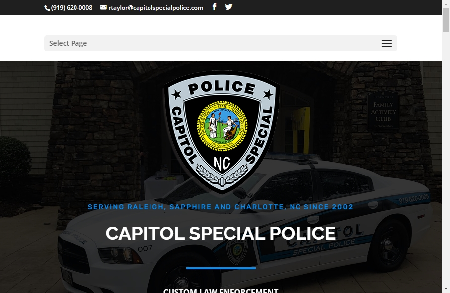 13 Examples of Inspirational Police Websites 18