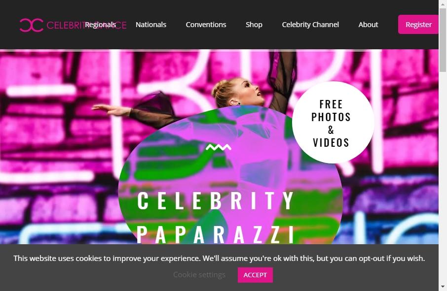 15 Great Celebrity Website Examples 19