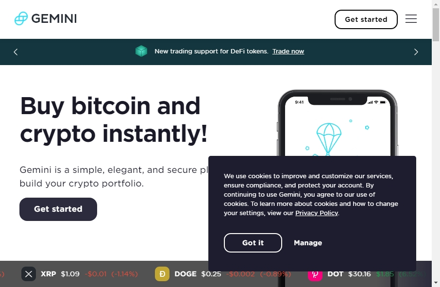13 Examples of Crypto Currency Websites With Fantastic Designs 19