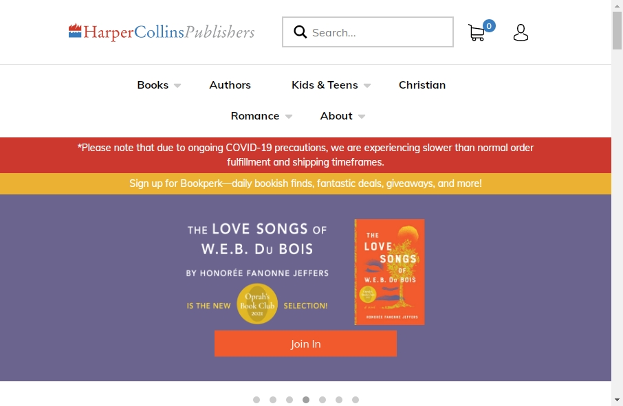 13 Great Publishing Website Examples 19
