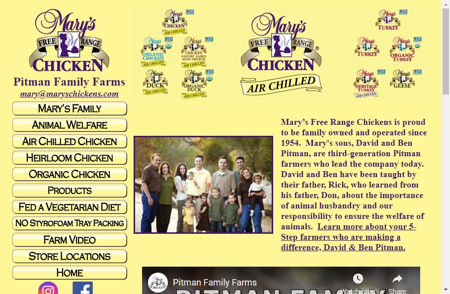 Examples of Poultry Websites With Fantastic Designs 19