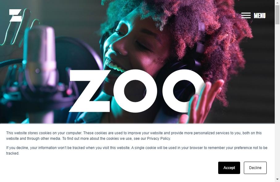 Zoo Websites Design 19