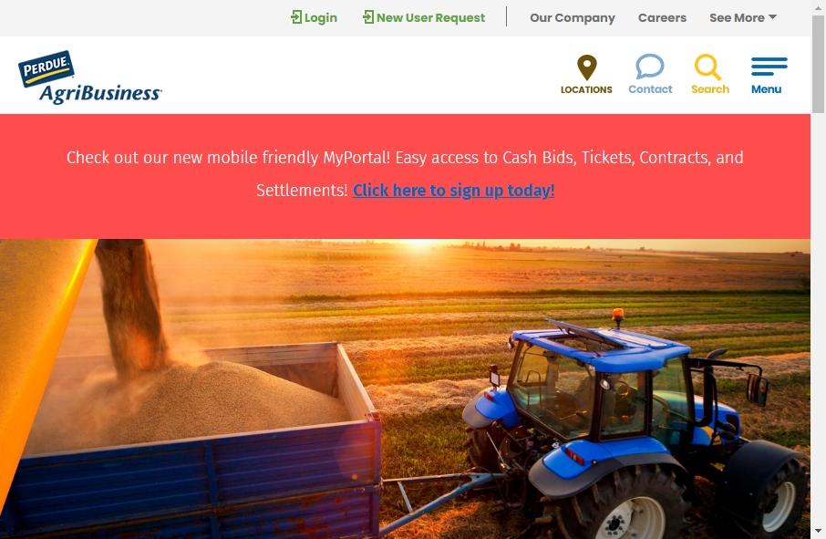 Agribusiness Website Designs 19