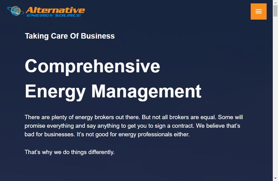 Alternative Energy Website Designs 18