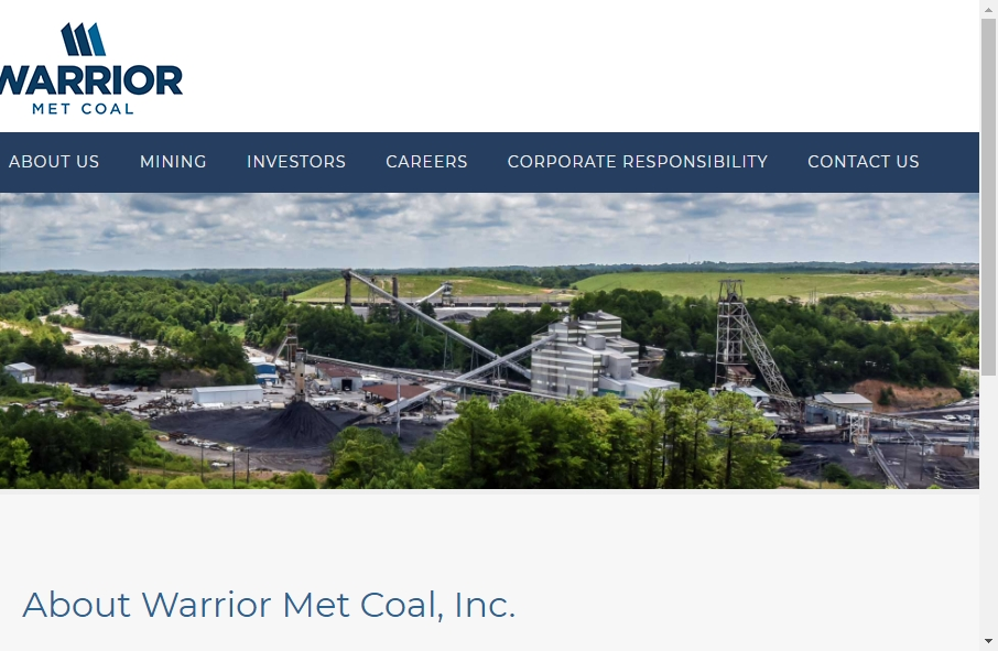Examples of Coal Mining Websites With Fantastic Designs 19