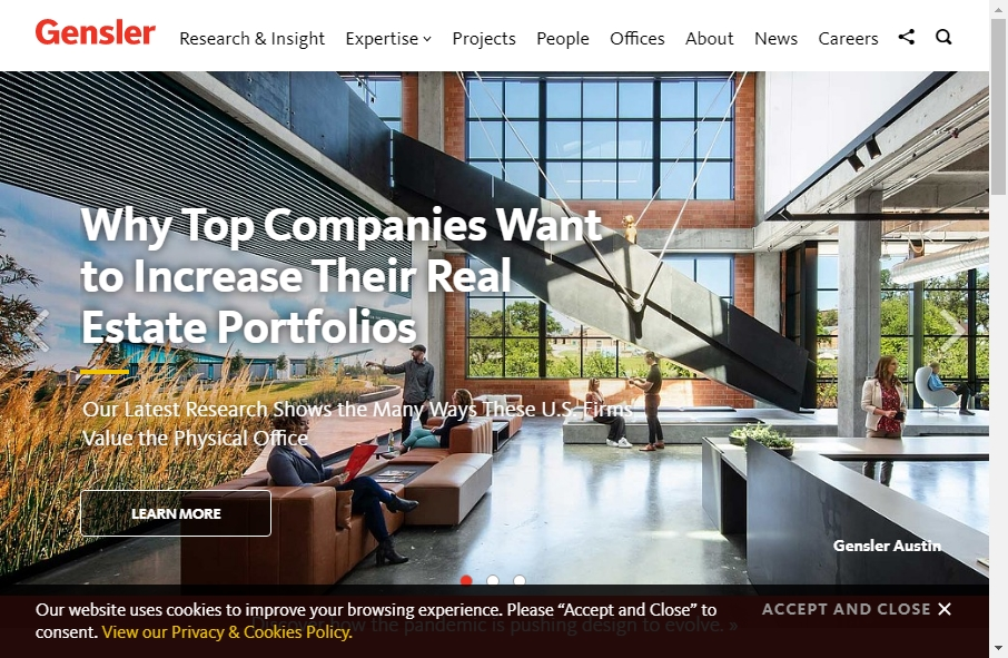 Great Architecture Website Examples 19