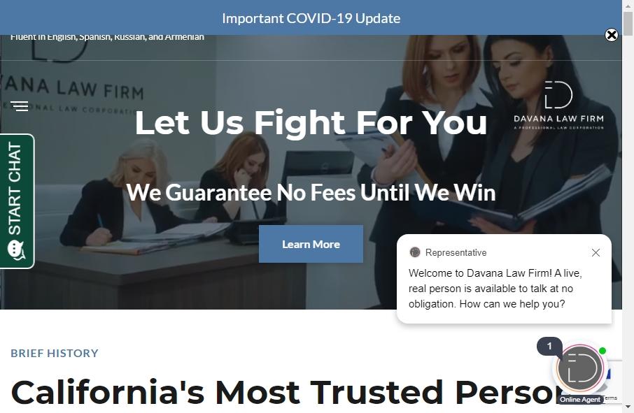 Best Law Websites Design Examples for 2021 17
