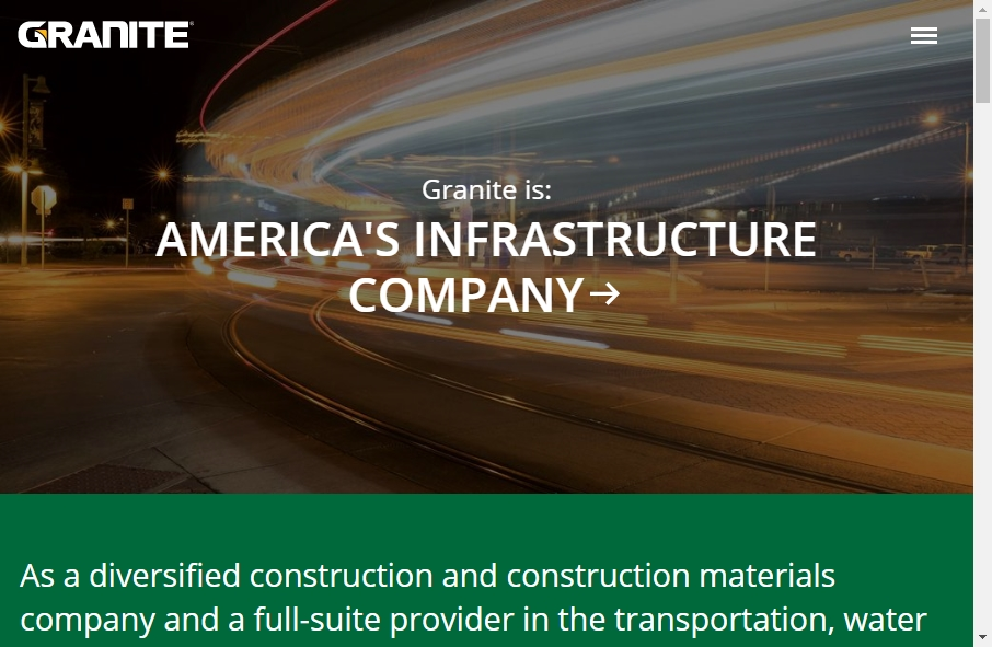 27 Examples of Construction Websites With Fantastic Designs 19