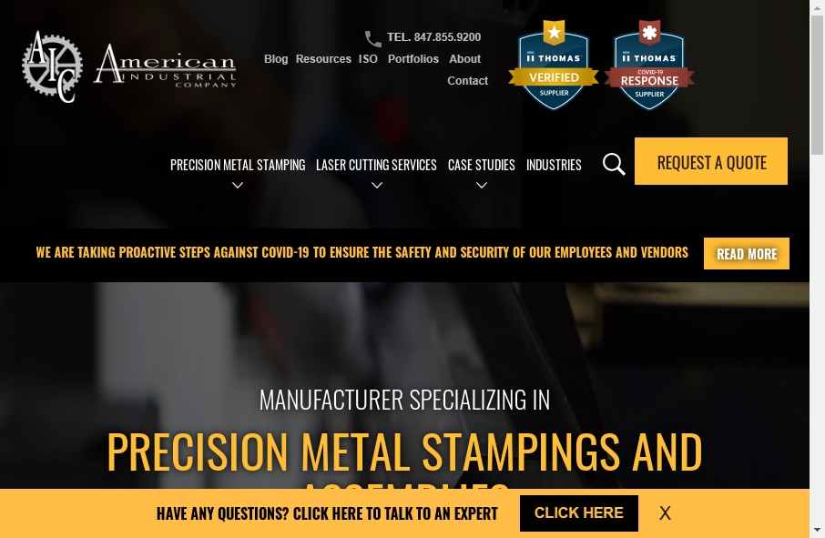 14 Industrial Website Examples to Inspire Your Site 19