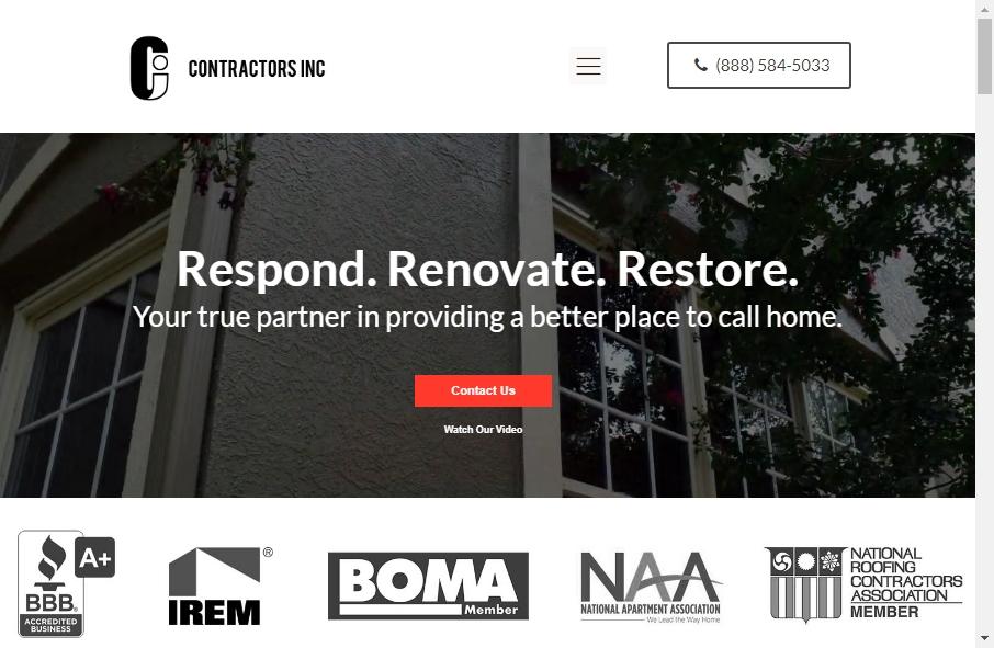 13 Best Contractors Websites Design Examples for 2021 17