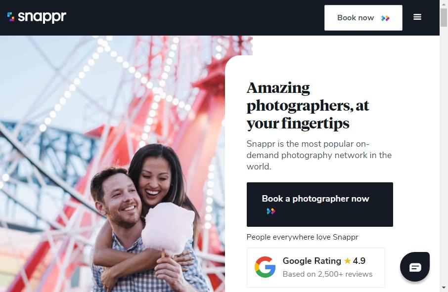 Photography Website Design 19